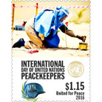 John McKay - Sweden, UN Peace Keeping Mail - 17 Apr 2017