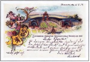 Michael Barden - Belgium, mail from international Trade fairs 1897-1958 - 16 Apr 2018