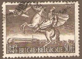 Belgium Centenary Issue of 1949